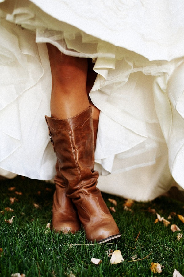 How To Wear Cowboy Boots With A Wedding Dress Mckinney 39 S